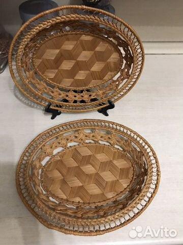 Плетеная конфетница  89196908883 купить 1