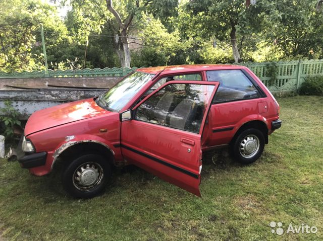 Toyota Starlet, 1987  89097889984 купить 7