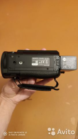 Sony FDR-AX53 4K видео  купить 4