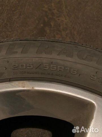 Комплект липучек на дисках Toyota  89870459779 купить 5
