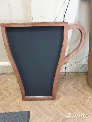 Штендер меловой для кофейни