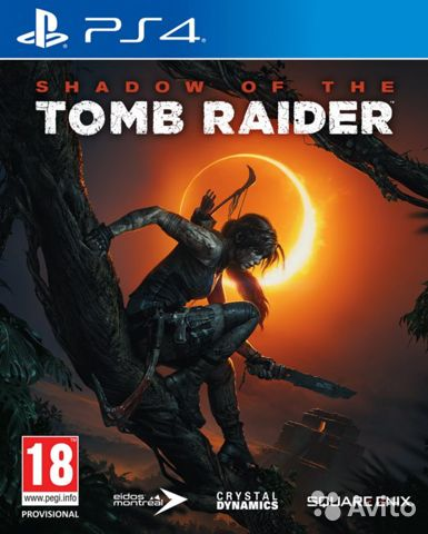 Shadow of the tomb raider. PS4