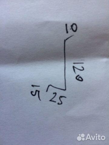 Отлив Оцинковка с полимерной окраской  89139150371 купить 4