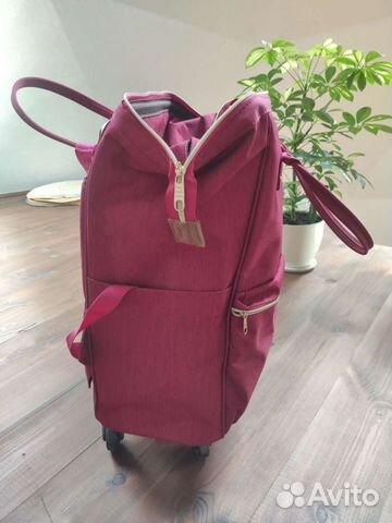 Новая сумка-рюкзак дорожная на колесиках barrley p  89208787198 купить 6