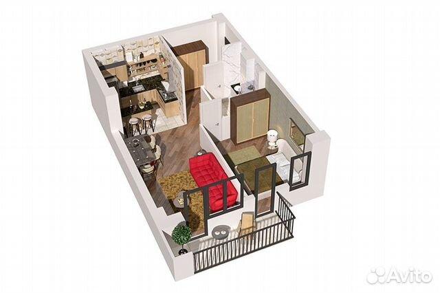 2-к квартира, 57.5 м², 12/15 эт.  89372408777 купить 2
