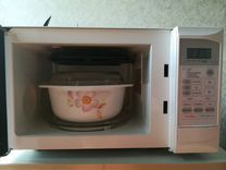 Микроволновая печь Daewoo с кастрюлей