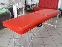Кушетка(Массажный стол) Гарантия 2 года+подушка