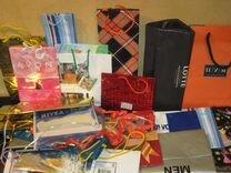Пакеты подарочные глянцевые для штучного товара