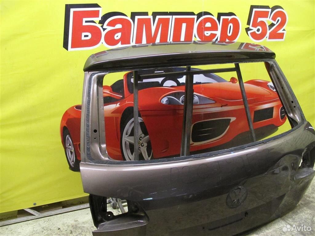 VW Touareg 2 NF 2010) крышка багажника (коричнева  89524408730 купить 2