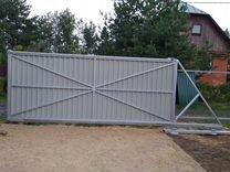 Рама откатных ворот 4000*2000 от производителя