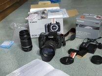 Фотоаппарат Canon 7D+оптика
