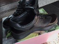 Полуботинки натуральная кожа — Одежда, обувь, аксессуары в Новосибирске