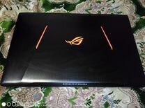 Игровой ноутбук asus ROG GL753V, GTX 1050 4гб