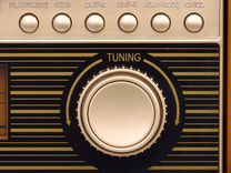 Ретро радиола с функцией мр3 и магнитофоном