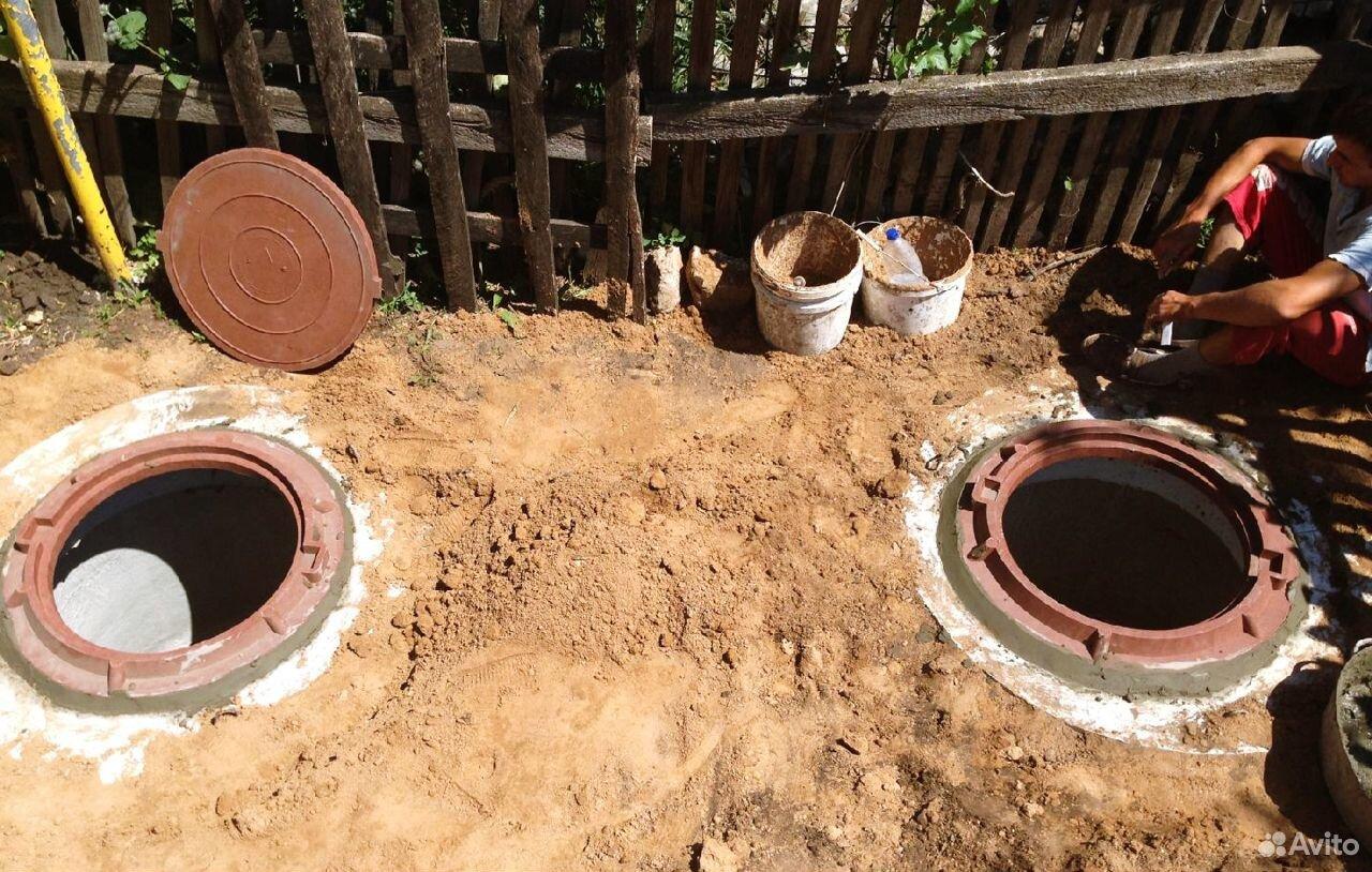 Септик из бетонных колец  89185315199 купить 2