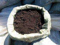 Плодородная земля сеяная в мешках 50кг