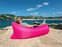 """Ламзак """"Lamzac"""" (надувной лежак), розовый"""