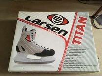Коньки хоккейные Larsen