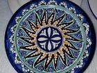 Ляган узбекский ручной росписи 42 см