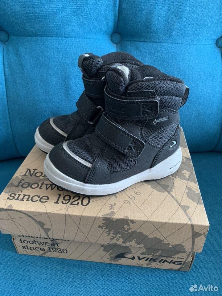 Ботинки Viking зима 24  89211054777 купить 1