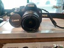 Canon 650 d 18 55,сумка+флешка+фильтры