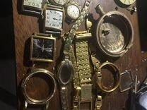 Позолота часы au