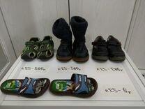 Теплые сапоги, босоножки и ботиночки 25 размера