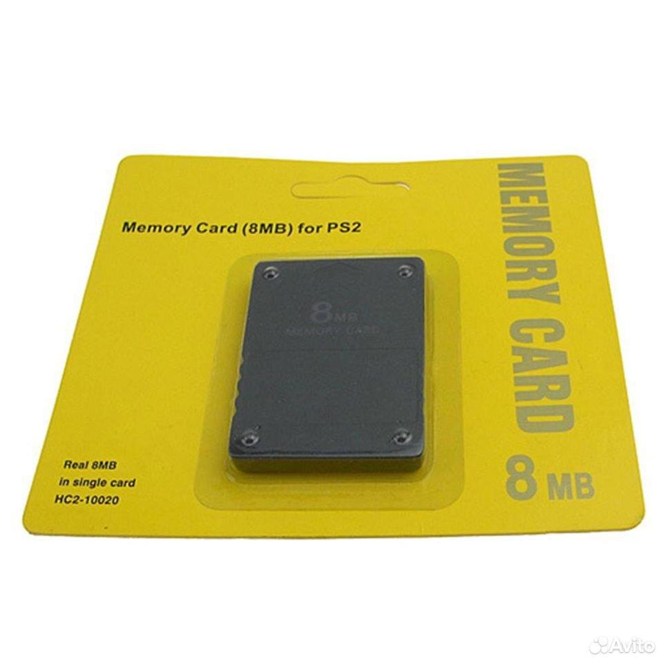 Карта памяти для PS2 8 Мбайт  89658122110 купить 2