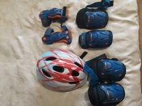 Шлем,наколенники