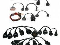 Набор переходников для сканера Delphi DS150 — Запчасти и аксессуары в Пензе