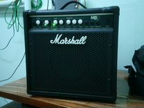 Marshall MB15 15W bass combo 2 channel (новый)
