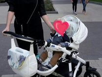 Коляска bebe mobile toscana 3в1