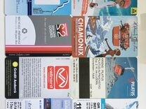 Пластиковые карточки. Ски-пасы (ski-pass) в коллек