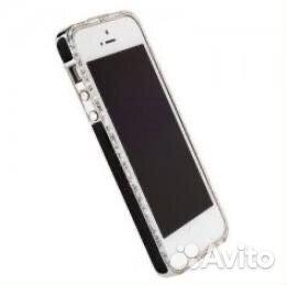 Металлический бампер со стразами для iPhone 5S  89246510965 купить 2