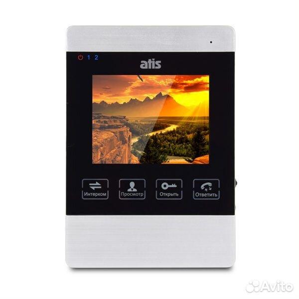 Видеодомофон Atis AD-470M S-Black  89282960009 купить 1