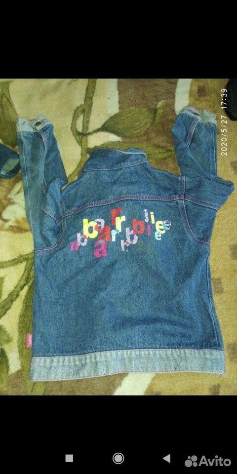 Джинсовые куртки и ветровка для девочки 7-8 лет  89109631283 купить 3