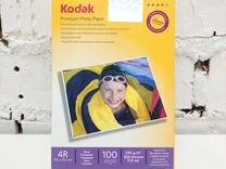 Фотобумага 4R (10,2х15,2) глян. 230г/м 100л. Kodak