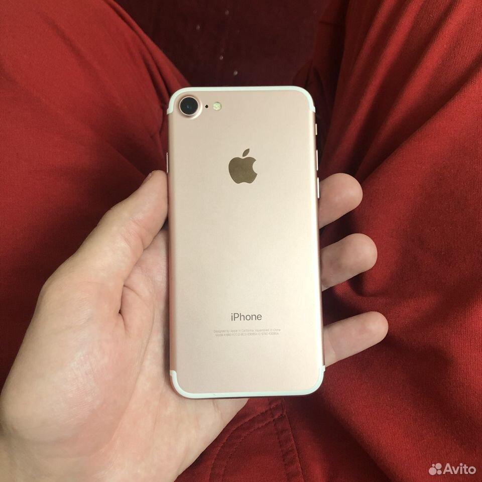 iPhone 7 32гб Rosegold  89286489914 купить 1