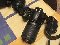 Nikon d3100 2 обьектива — Фототехника в Москве