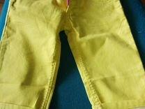 Бриджи желтые